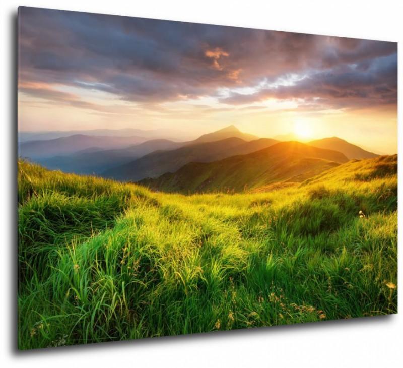 Ogromny obraz wiosenny pejzaż LJ14