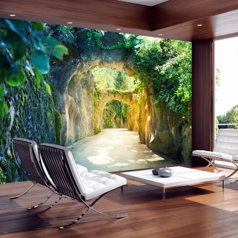 Fototapeta 3d magiczny korytarz for Vinilos 3d para interior