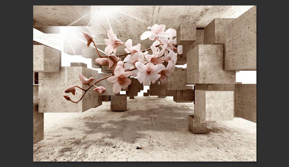 Fototapeta 3d Z Kwiatami