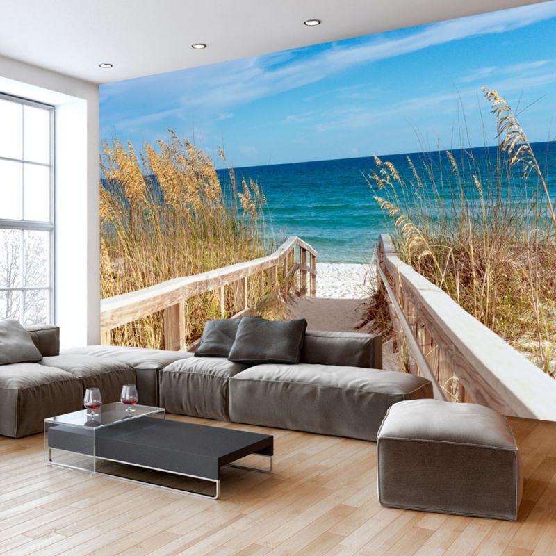 Fototapeta do salonu wakacje nad morzem - Papel pintado paisaje ...