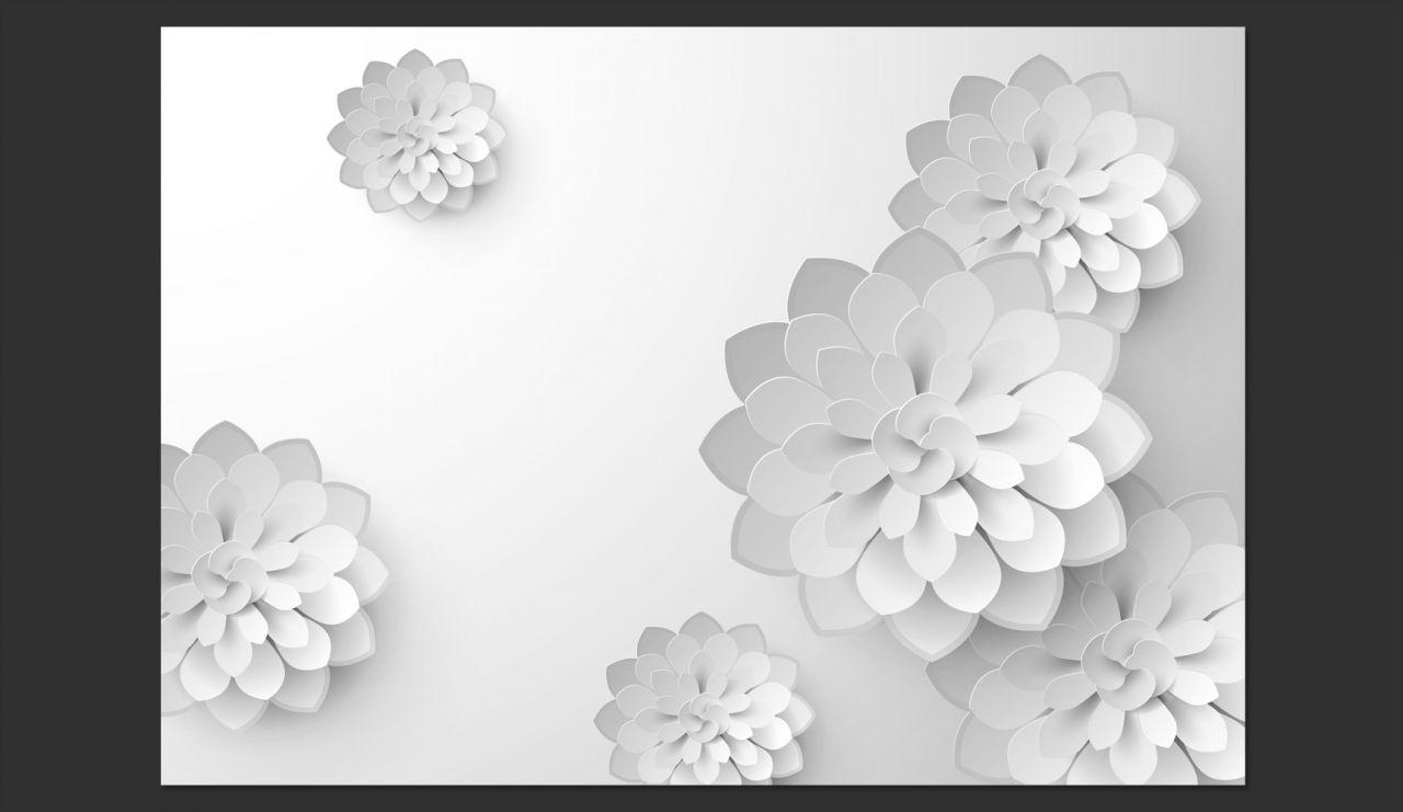 Fototapeta 3d Do Sypialni Kwiaty