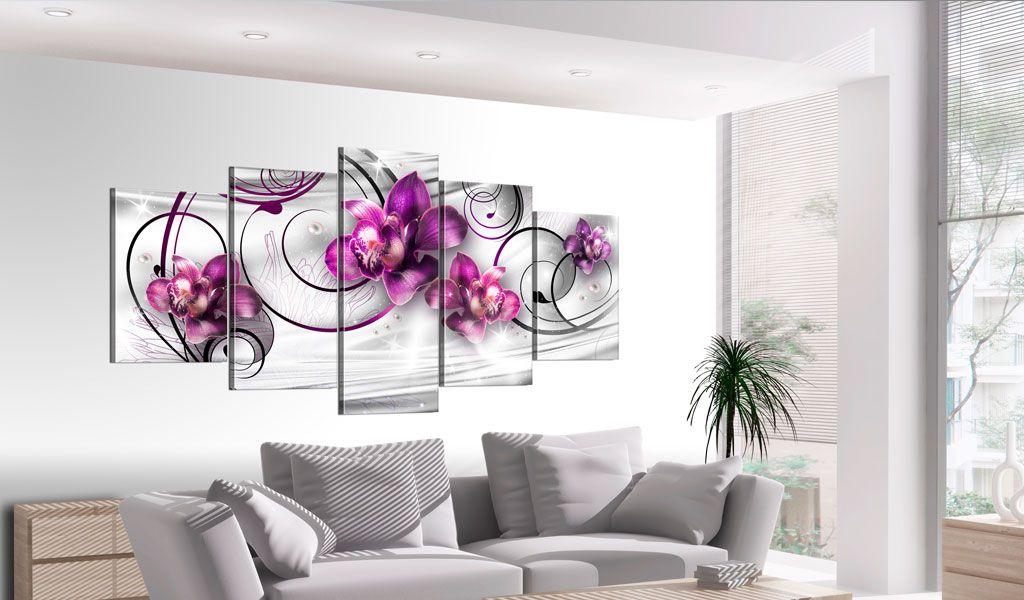 obraz orchidee i per y. Black Bedroom Furniture Sets. Home Design Ideas