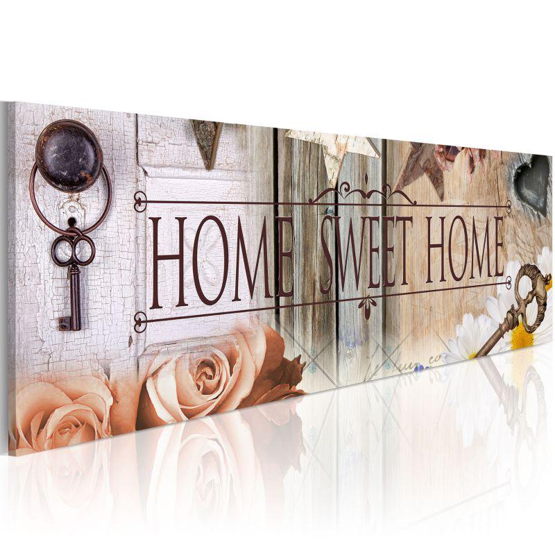 obraz klucz do ukochanego domu. Black Bedroom Furniture Sets. Home Design Ideas