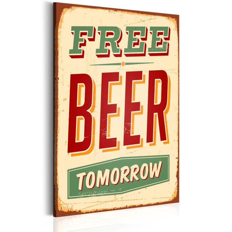 Obraz - Free Beer Tomorrow