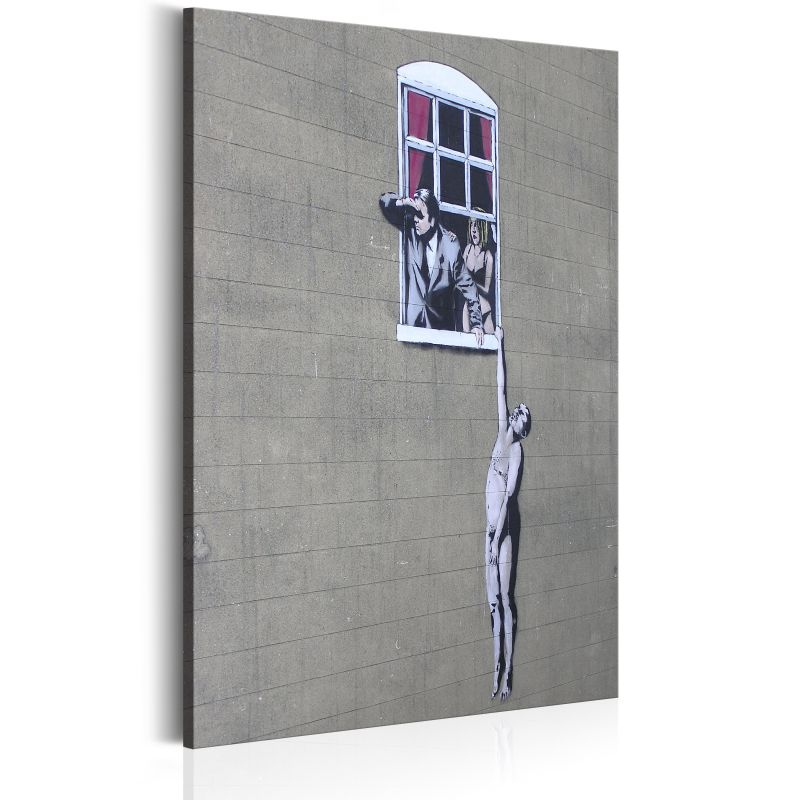 Obraz - Well Hung Lover by Banksy