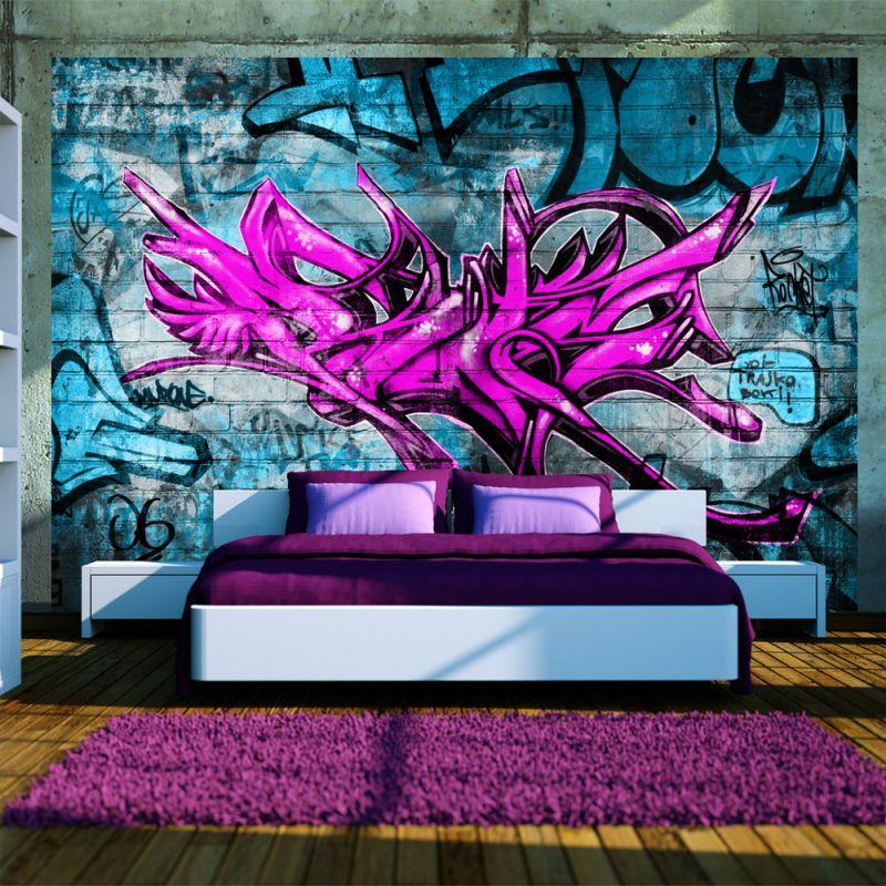 Fototapeta anonymous graffiti for Graffiti jugendzimmer