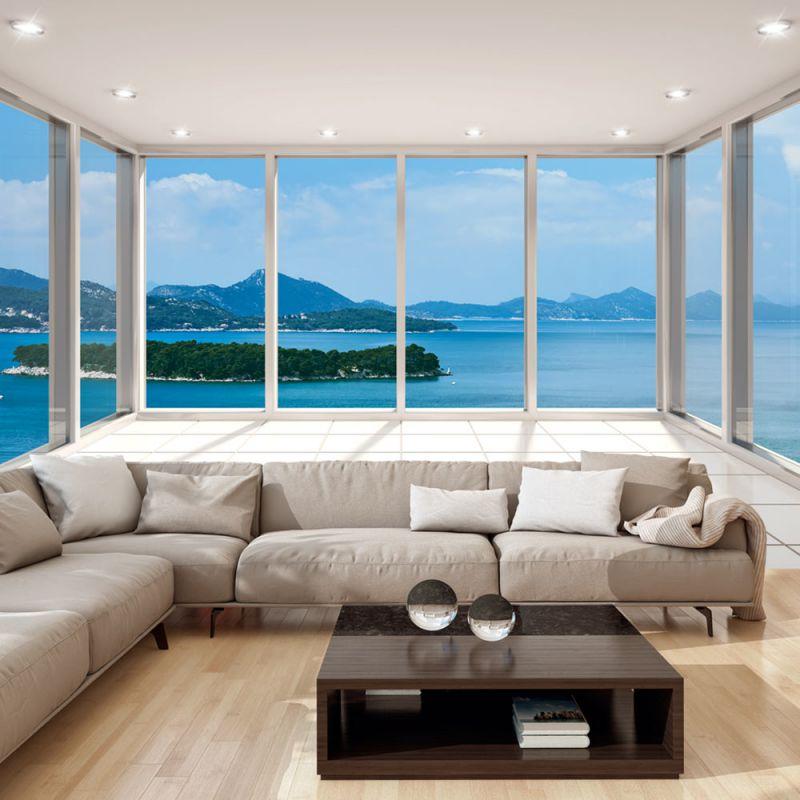 fototapeta 3d na cian. Black Bedroom Furniture Sets. Home Design Ideas