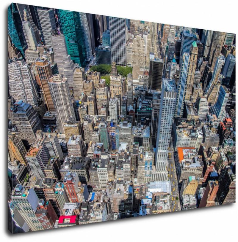 Obraz Miasto Widok Z Lotu Ptaka