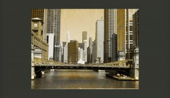 Fototapeta Most w Chicago
