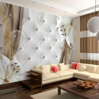 oryginalne fototapety z liliami swiat. Black Bedroom Furniture Sets. Home Design Ideas